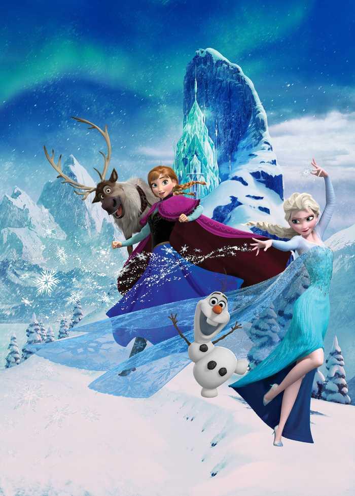 Digitaldrucktapete Frozen Elsas Magic