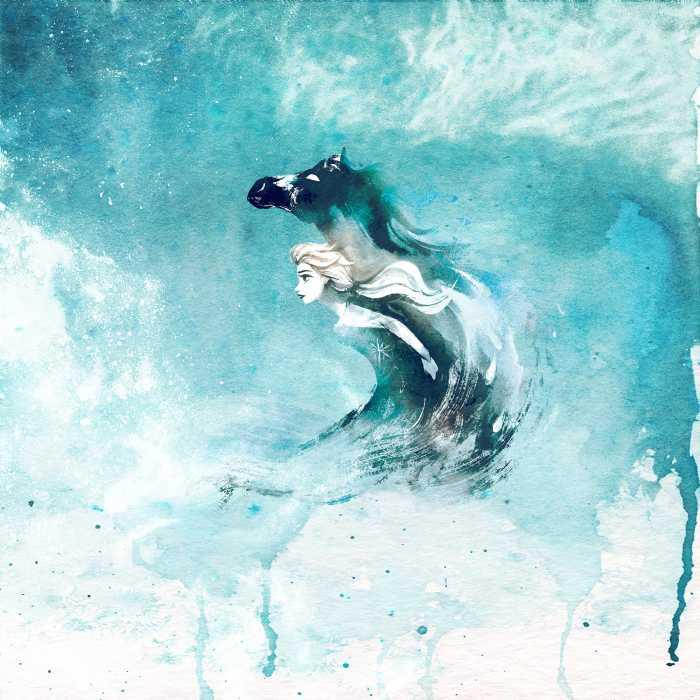 Digitaldrucktapete Frozen Spirit Of Wonder