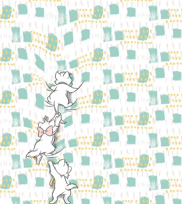 Digitaldrucktapete Kitty Climbers