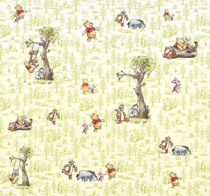 Digitaldrucktapete Winnie Pooh Friends