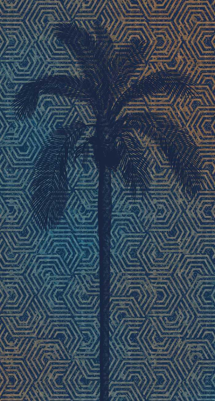 Digitaldrucktapete Silhouette