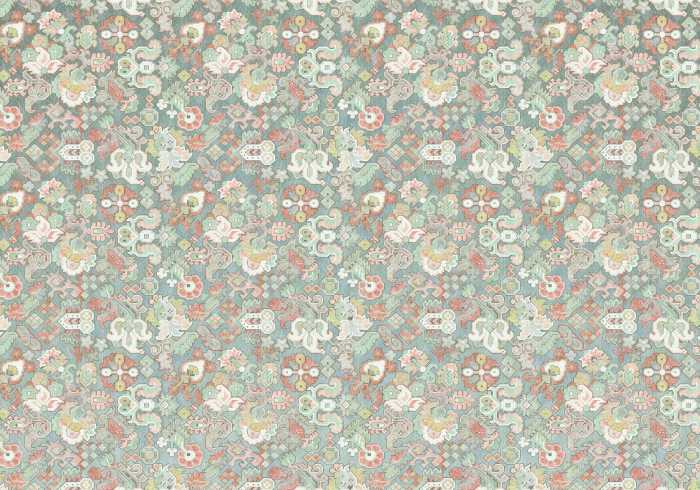 Digitaldrucktapete Fleurs d'Océan