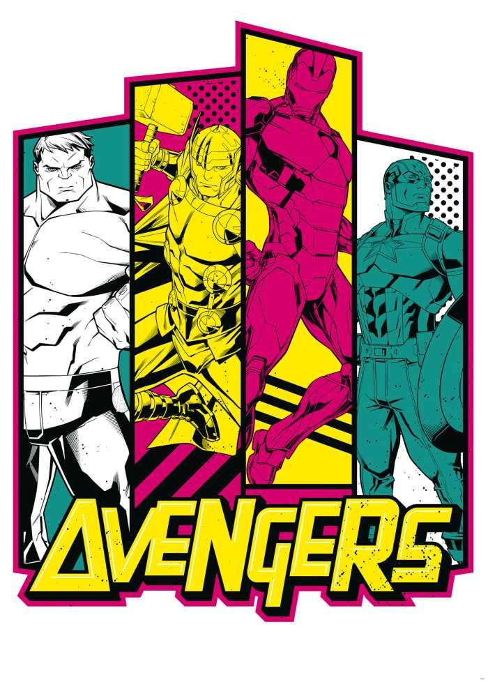 Digitaldrucktapete Avengers Flash