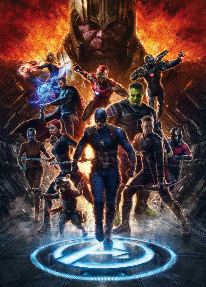 Digitaldrucktapete Avengers vs Thanos