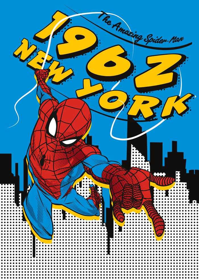 Digitaldrucktapete Spider-Man 1962