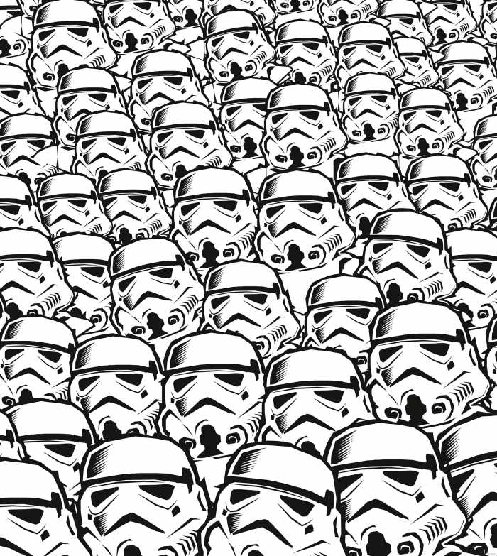 Digitaldrucktapete Star Wars Stormtrooper Swarm