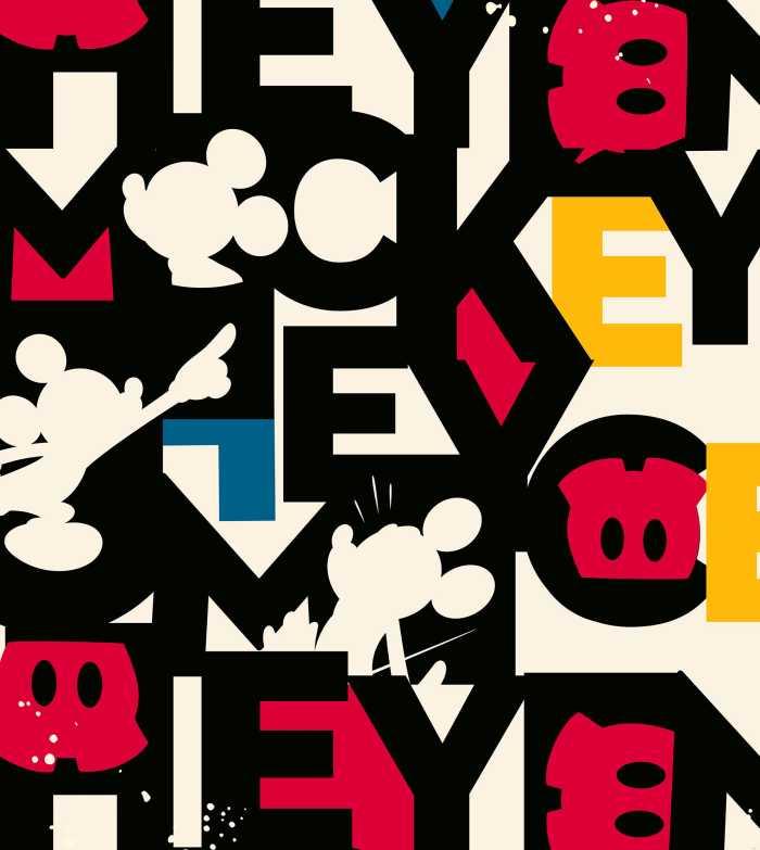 Digitaldrucktapete Mickey Mixup
