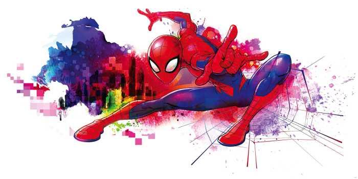 Digitaldrucktapete Spider-Man Graffiti Art