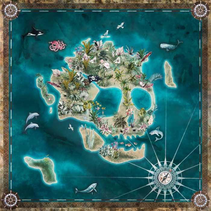 Digitaldrucktapete Skull Island