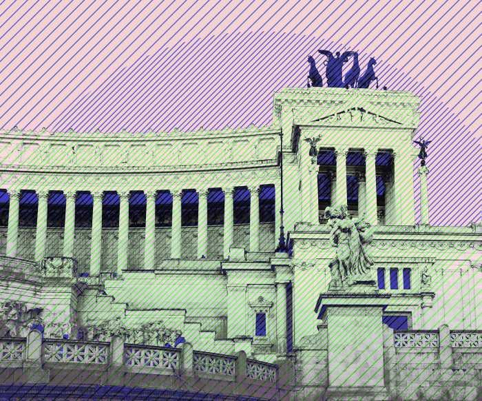 Digitaldrucktapete Roma