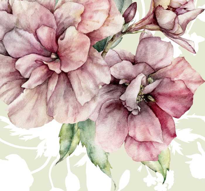 Digitaldrucktapete La Flor