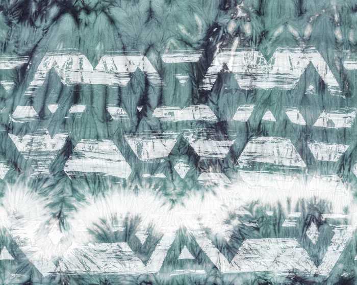 Digitaldrucktapete Tribal Dye