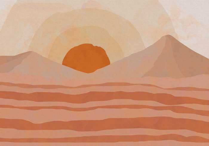 Digitaldrucktapete Sabbia
