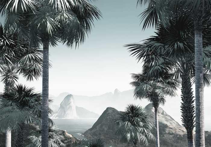 Digitaldrucktapete Guanabara