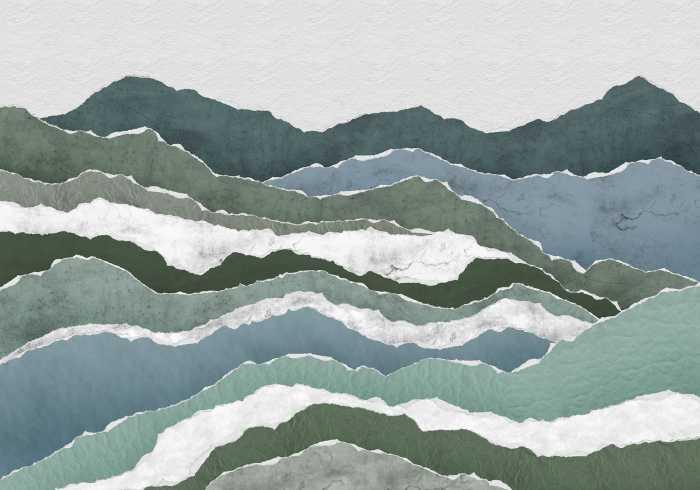 Digitaldrucktapete Sierra