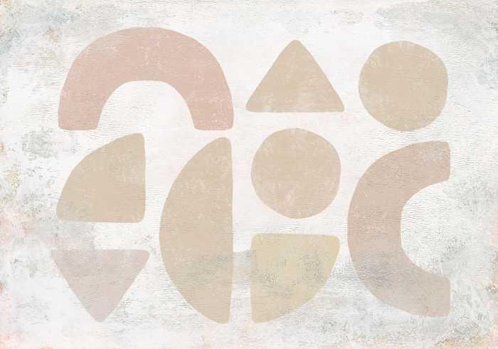 Digitaldrucktapete Impasto