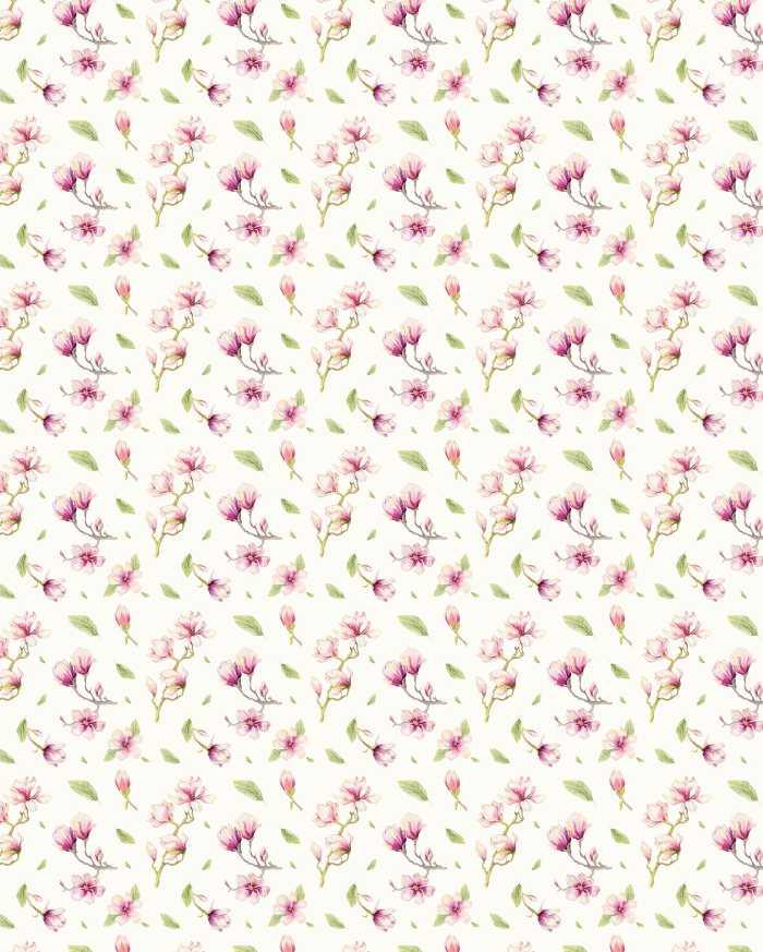 Digitaldrucktapete Magnolia Rapport