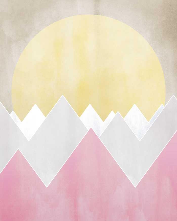 Digitaldrucktapete Sunrise Spring