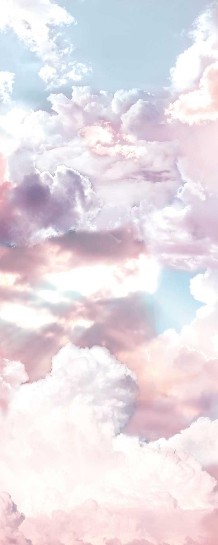 Digitaldrucktapete Clouds