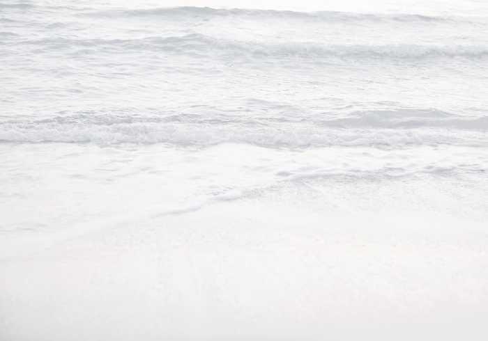 Digitaldrucktapete Silver Beach