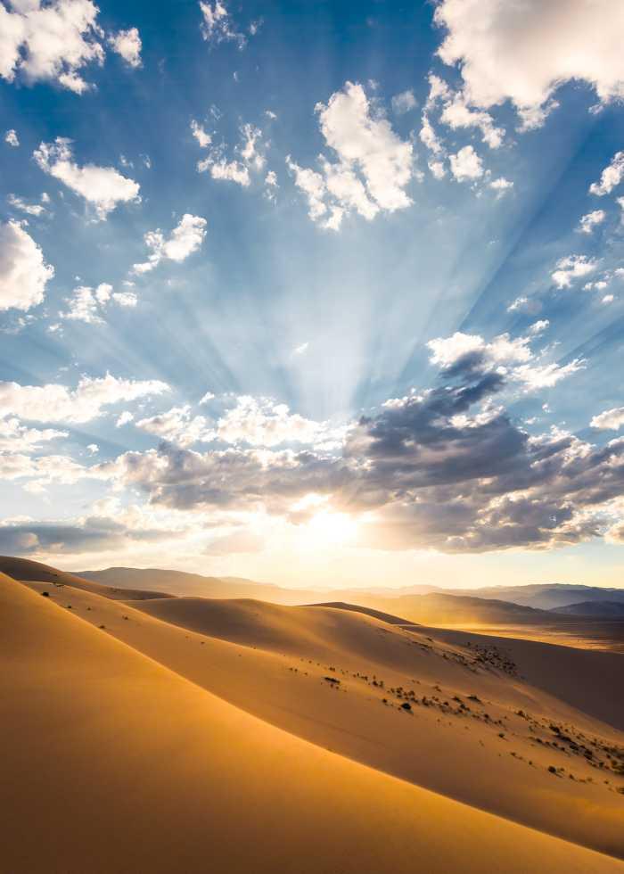 Digitaldrucktapete Wüstenmagie