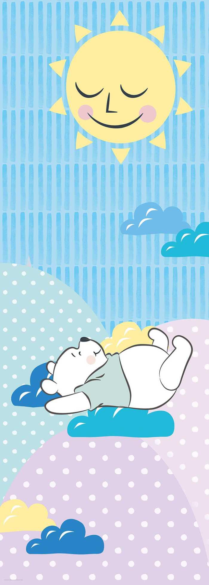 Digitaldrucktapete Winnie Pooh Take a Nap