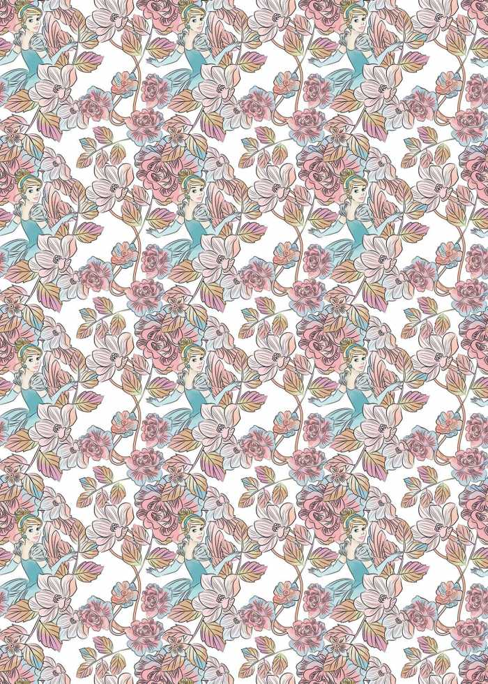 Digitaldrucktapete Cinderella Blossom