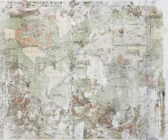 Digitaldrucktapete British Empire