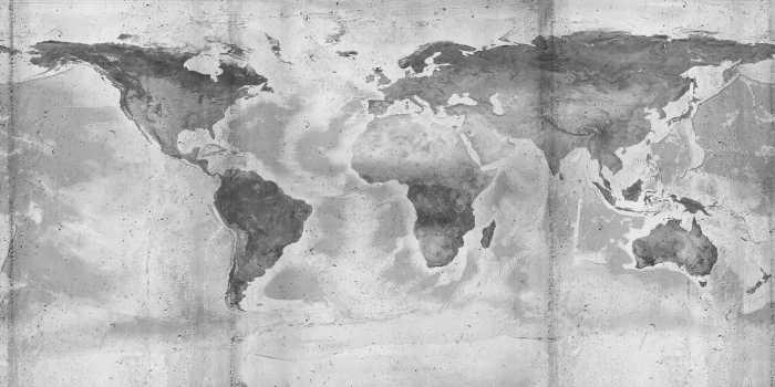 Digitaldrucktapete Concrete World