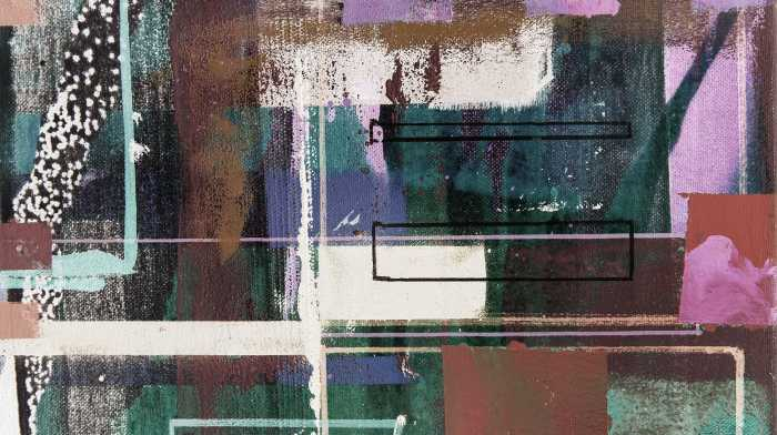 Digitaldrucktapete Liquids Dripping