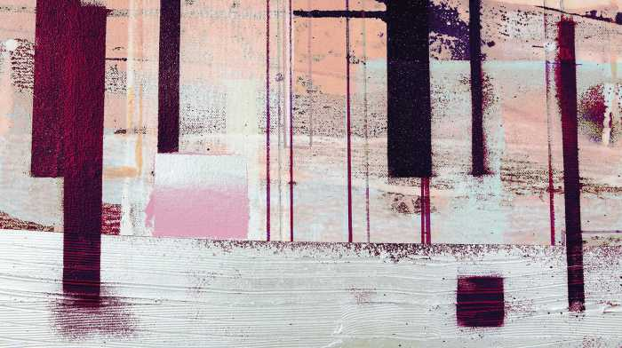 Digitaldrucktapete Horizon Blazing