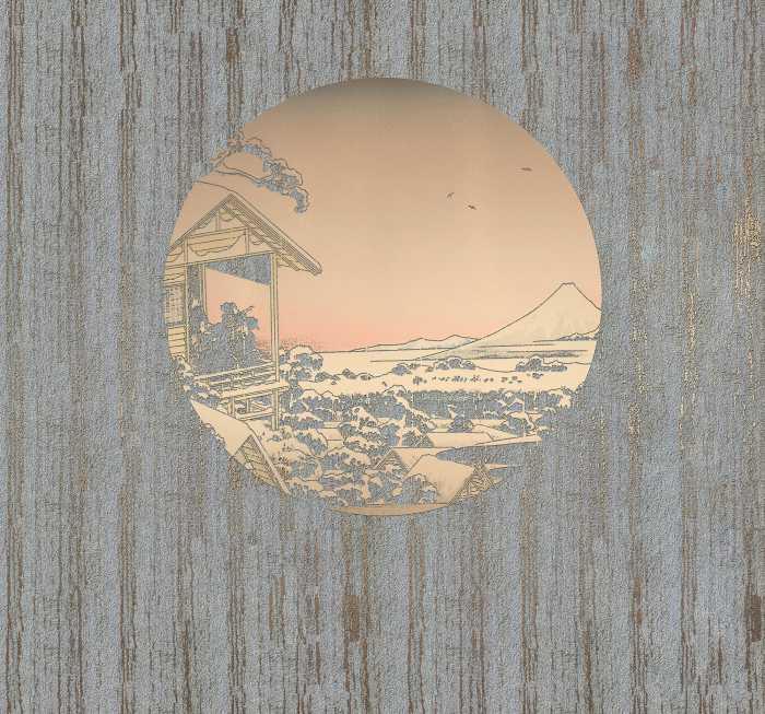 Digitaldrucktapete Land of Gold