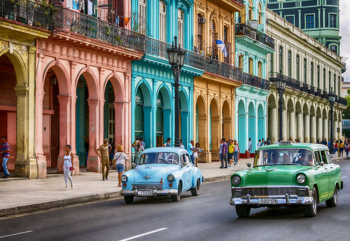 Fototapete Cuba