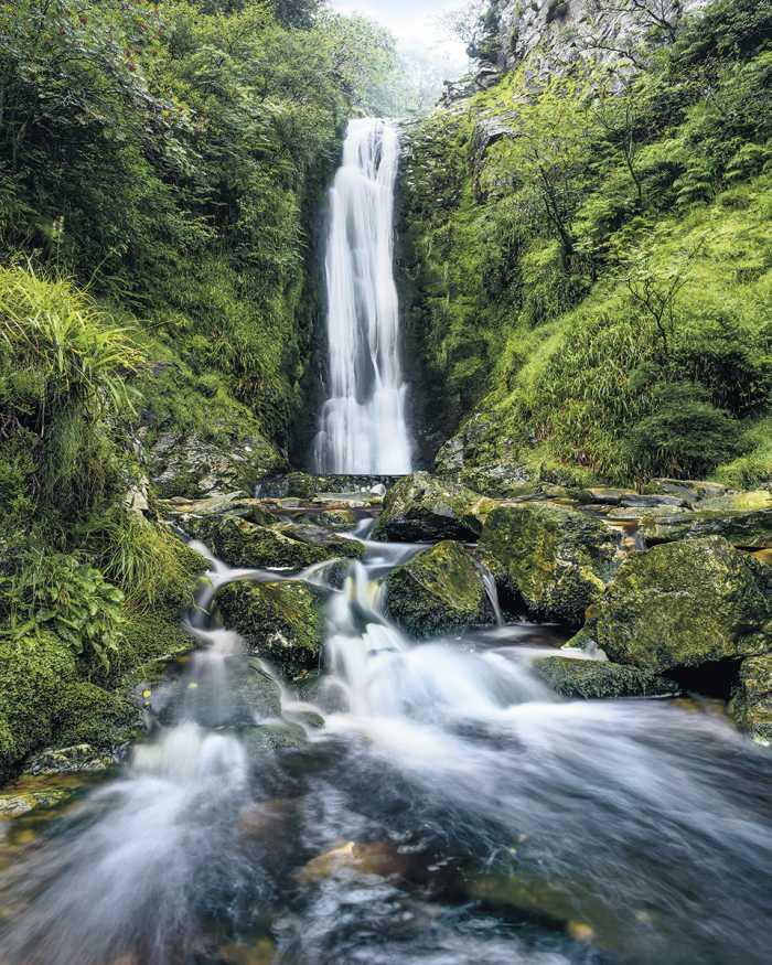 Digitaldrucktapete Glenevin Falls