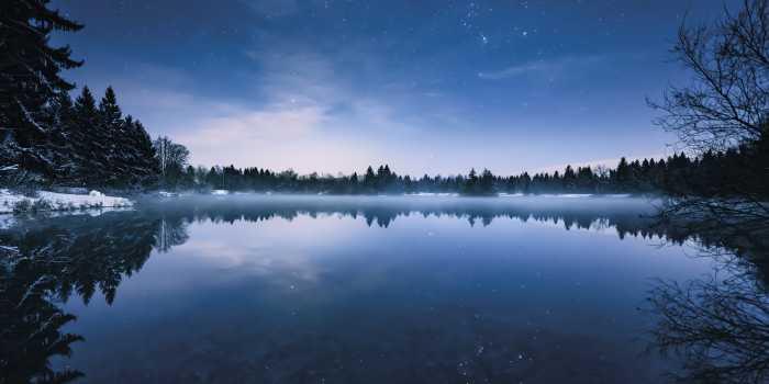 Panel Glistening Stars