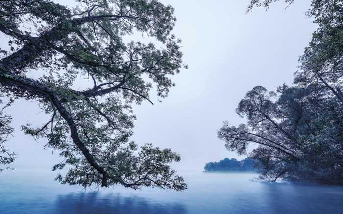 Digitaldrucktapete Blue Waters