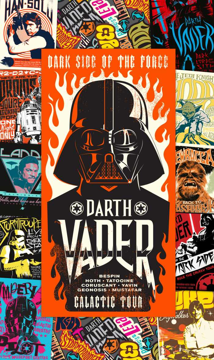 Panel Star Wars Rock On Posters