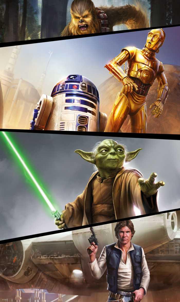 Panel Star Wars Moments Rebels