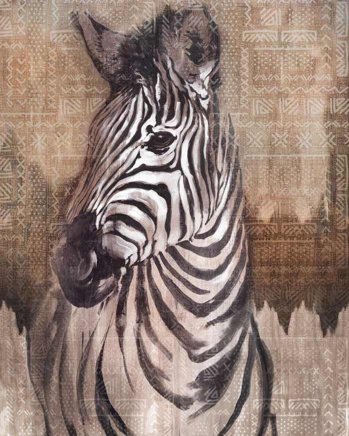 Digitaldrucktapete Zebra