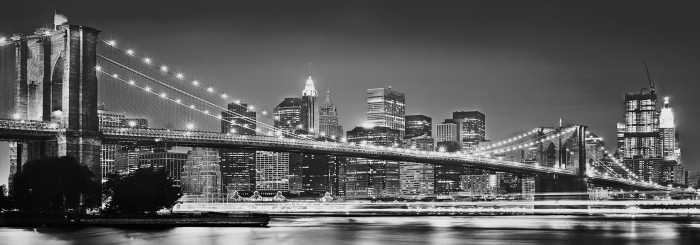 Digitaldrucktapete Brooklyn Bridge