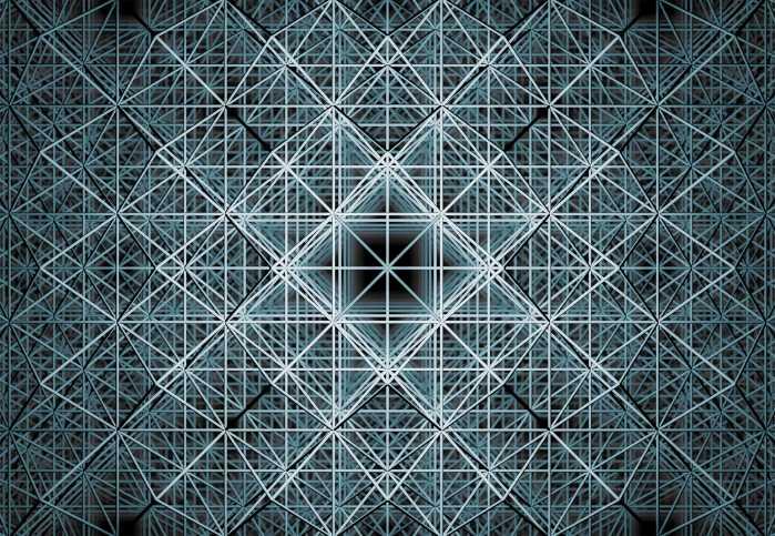 Vliestapete Matrix