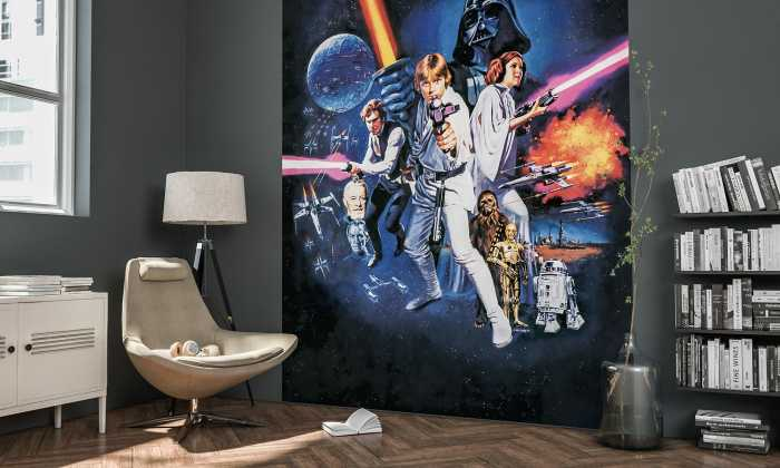 Digitaldrucktapete Star Wars Poster Classic 1