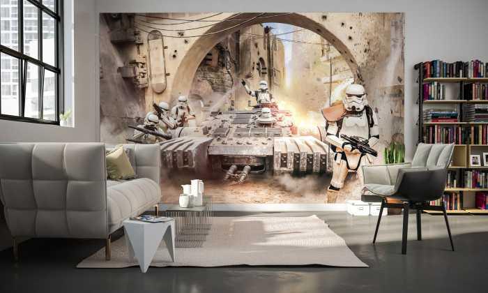 Digitaldrucktapete Star Wars Tanktrooper