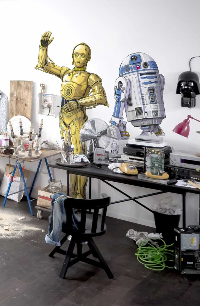 Wandtattoo Star Wars XXL C-3PO