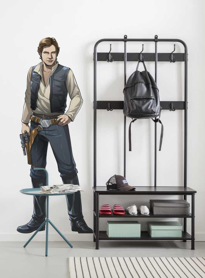 Wandtattoo Star Wars XXL Han Solo