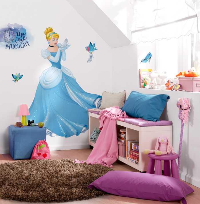 Wandtattoo Cinderella XXL