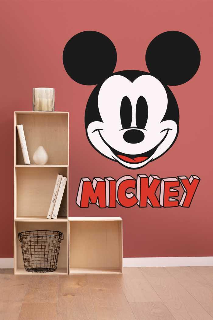 Wandtattoo Mickey Smile XXL