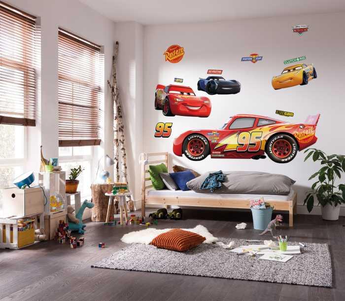 Wandtattoo Cars XXL