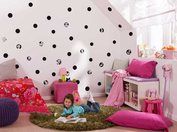 Wandtattoo 101 Dalmatiner Dots