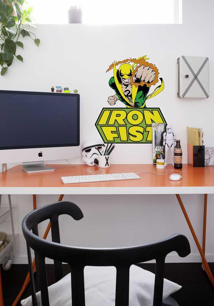 Wandtattoo Iron Fist Comic